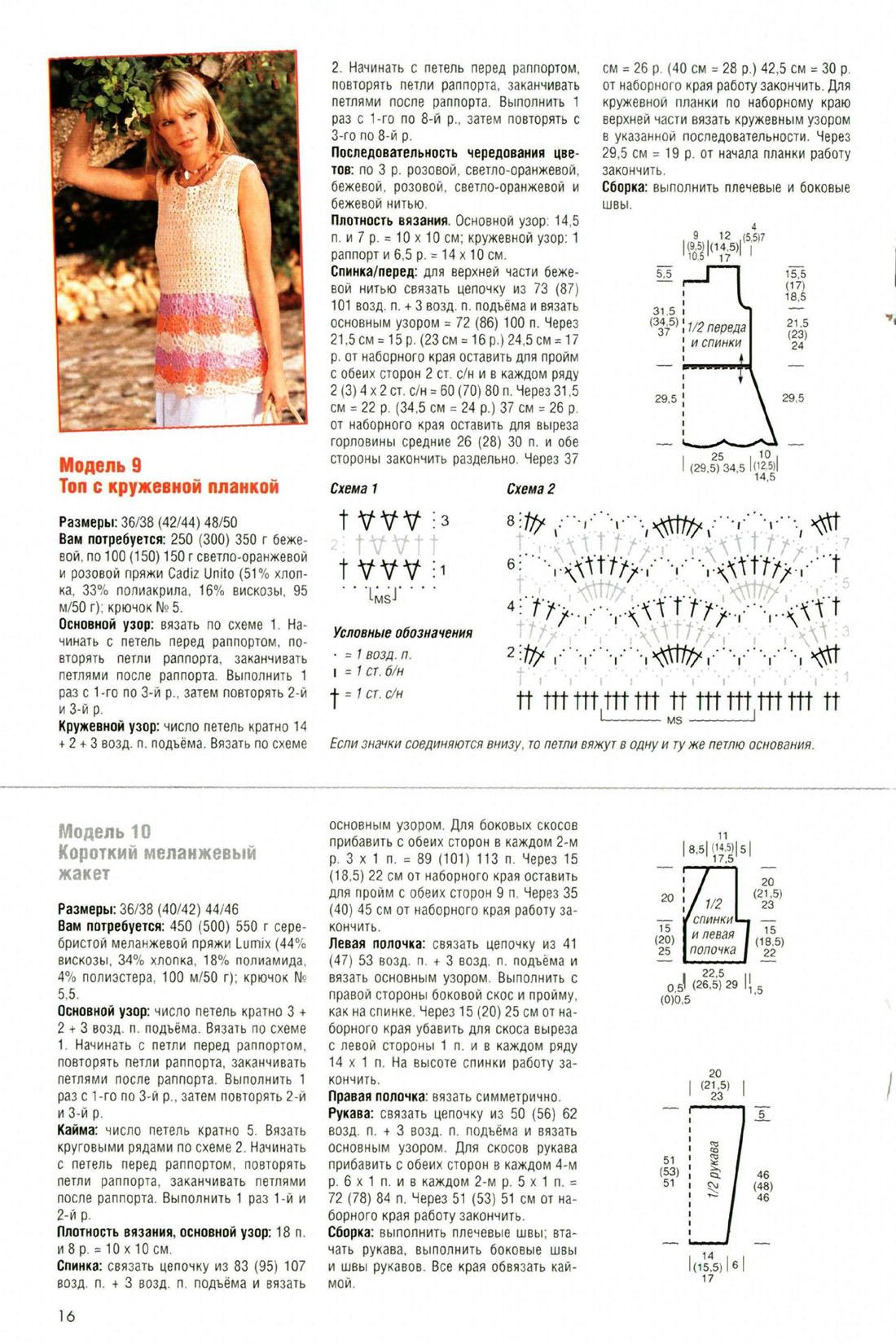 Схемы по вязанию диана мал