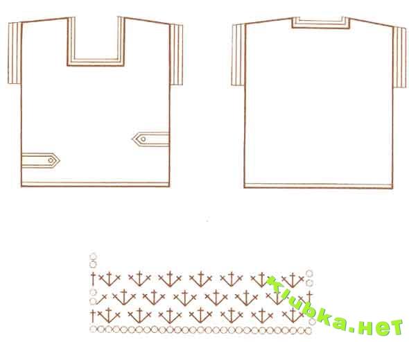 Вязание крючком из ниток ирис