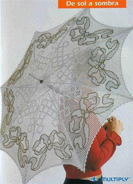 Зонты крючком