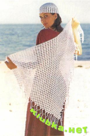Схемы вязания крючком понамок