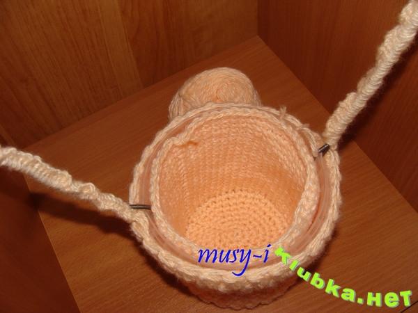 Шкатулка-игольница крючком из майонезного ведра (мастер-класс)