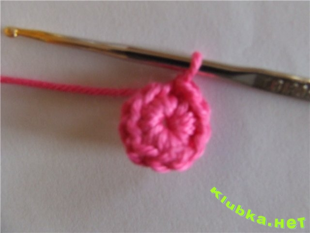схема вязания детской панамки крючком.