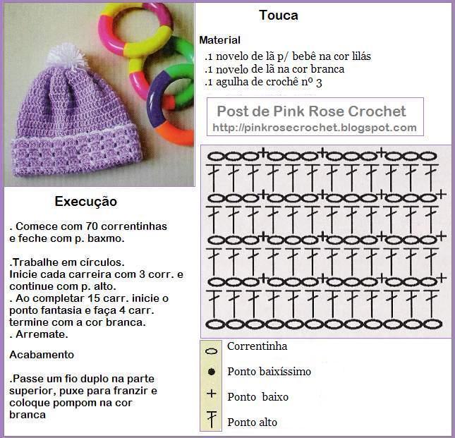 Вязание крючком для детей пинеток и шапочек