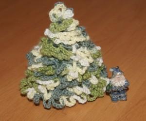 Вязаная елка (мастер класс)