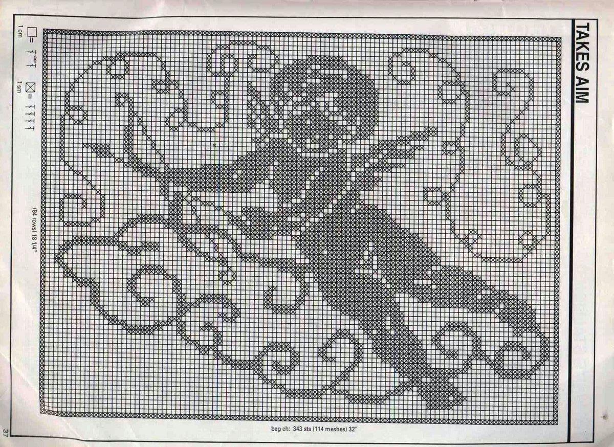 Филейное вязание схемы картин крючком схемы 4