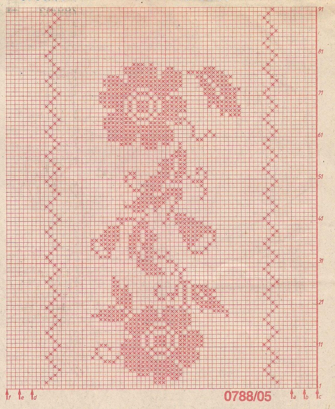 Филейное вязание ПРАВИЛА 63 схемы и фото. Семейная Кучка 53