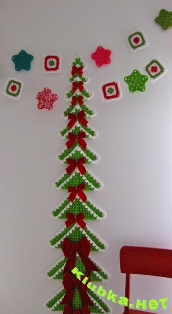 Новогодняя елка кпючком