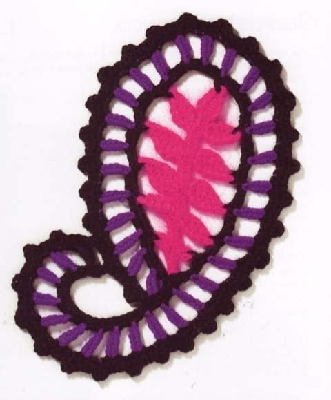 "Motivi Crochet ""Cetrioli"""