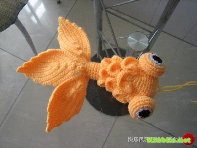 Золотая рыбка крючком (Мастер-класс)