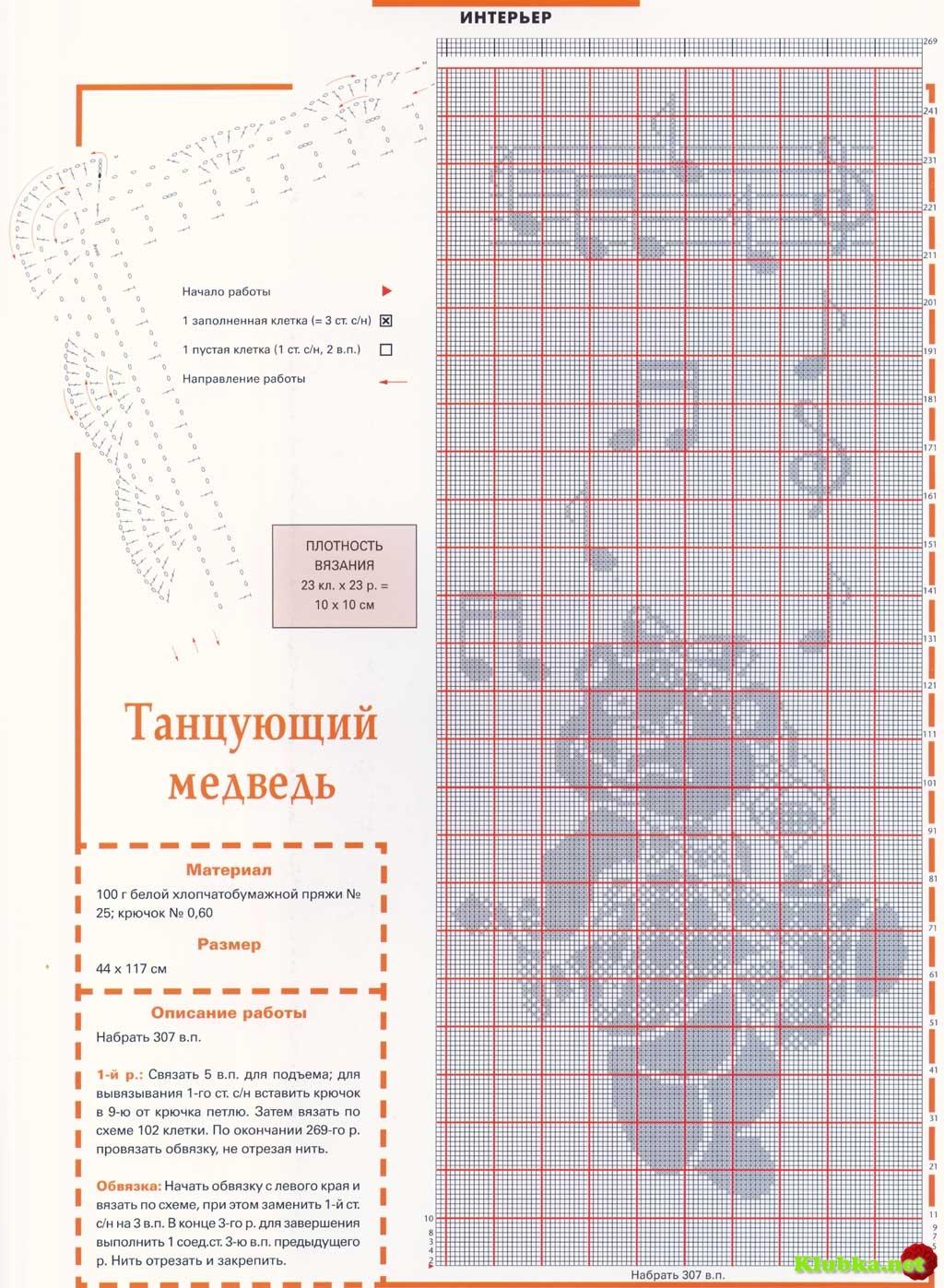 Узоры филейного вязания для детей