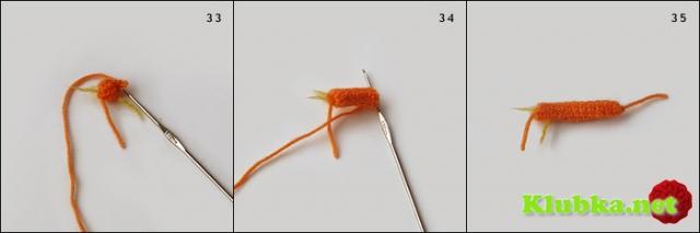 Тигренок крючком (Мастер-Класс)