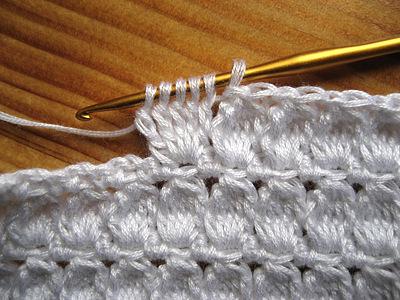 Узор для вязания крючком