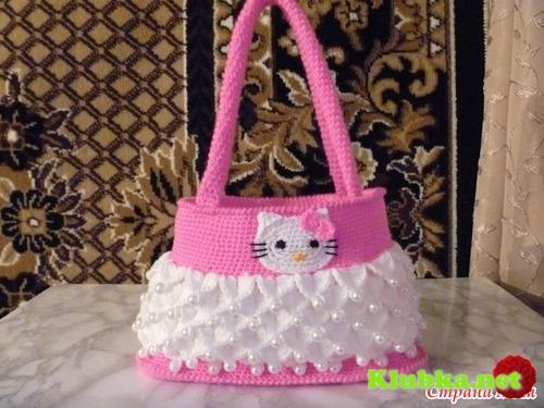 вязание сумки мастер класс - 13.