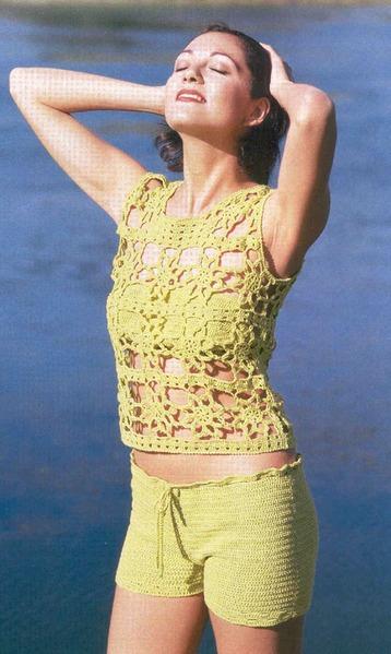 Пляжная мода крючком (Много)