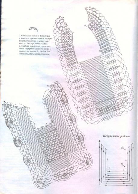 Слюнявчики-нагрудники крючком (много)