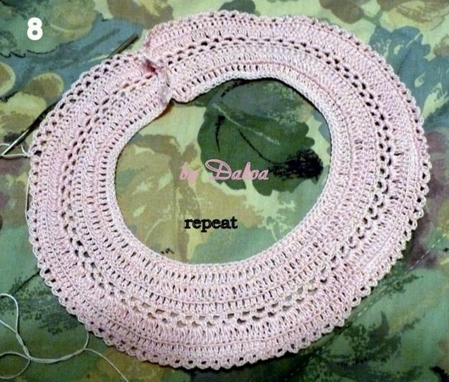 Озорной колокольчик - платьице крючком