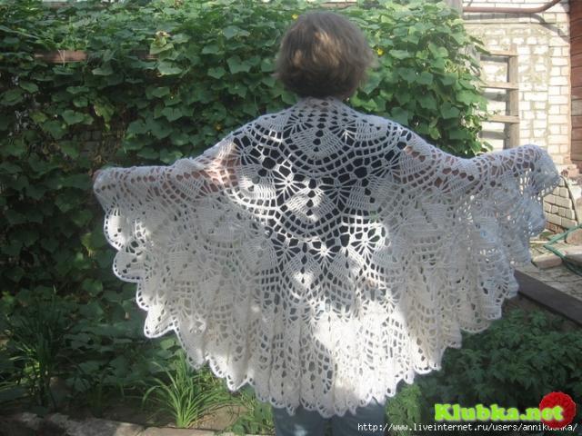 Накидка-шаль