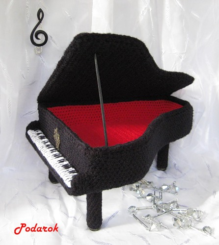Шкатулка «Старый рояль»