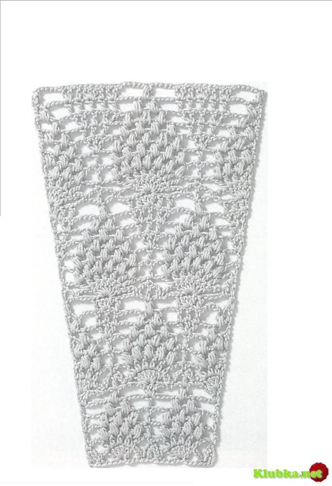 Метки: вязание крючком кайма