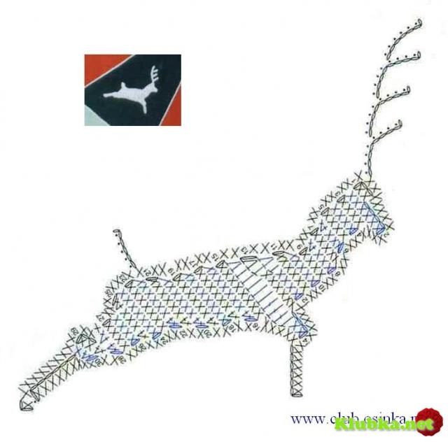 Схемы для вязания крючком животные 57
