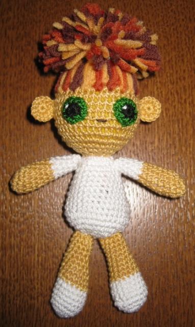 Вязаная кукла (крючок)