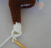Мастер-класс вязанной куклы