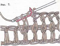 Основные петли и приемы вязания крючком