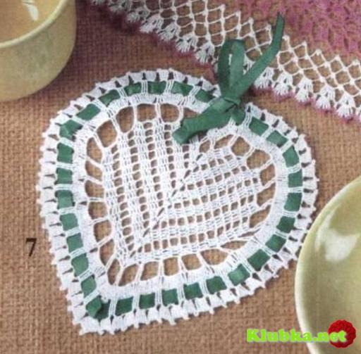 Сердечко с зеленой лентой