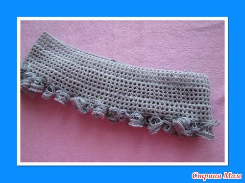 """Для девочек: юбочка с рюшами из """"Дантела""""."""
