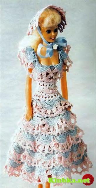 Необычное платье и шляпка для Барби