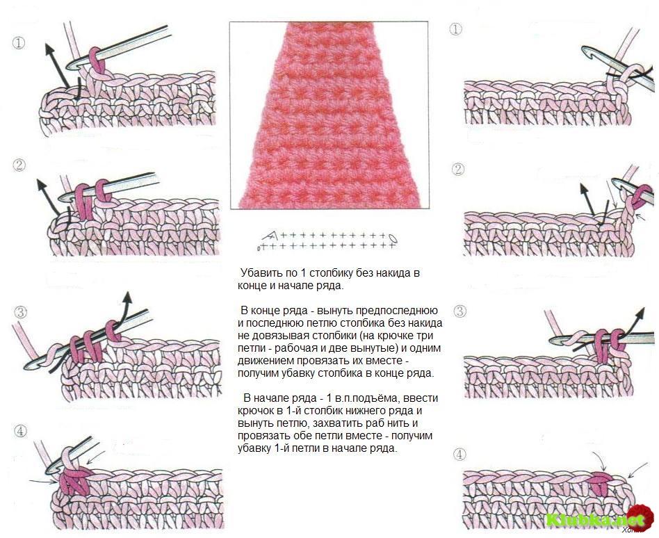 Вязание носков из пуха спицами