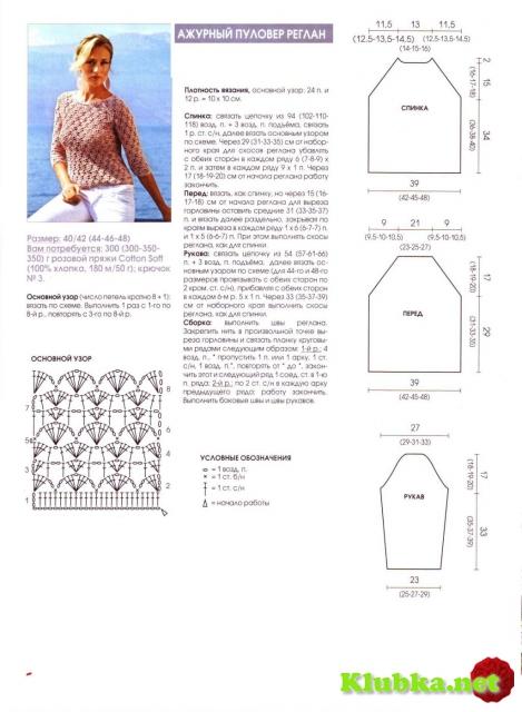Вяжем рукав реглан спицами: расчет петелек и процесс вязания 81