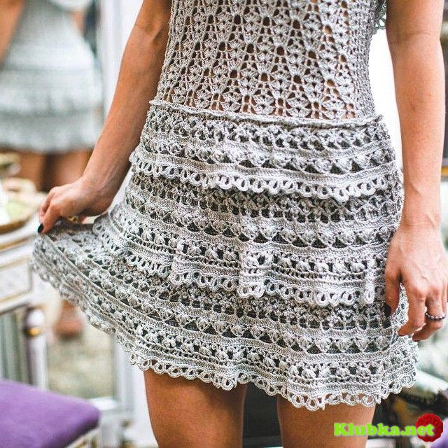Нежное платье Ванессы