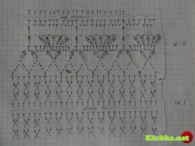 Платье ванессы монторо схемы
