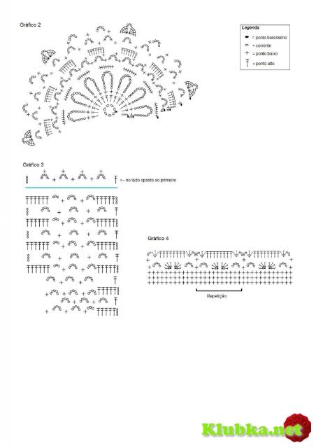 Марсала - блузка крючком из цветочных мотивов