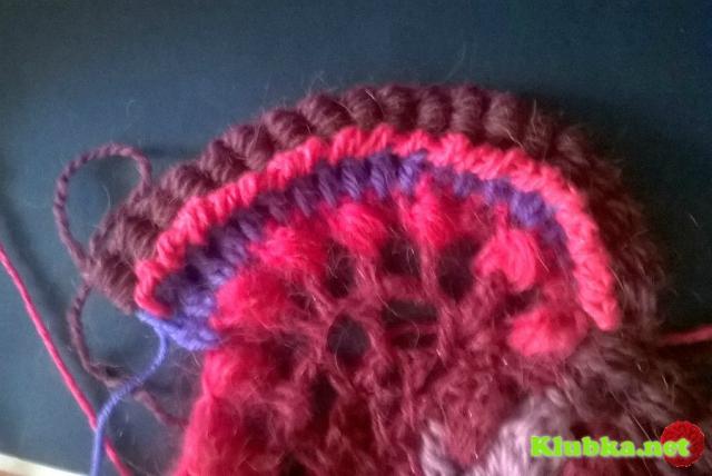 Вязание без обрыва нити Мой фриформ