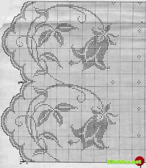 Филейное вязание  Кофточка крючком Модель 50