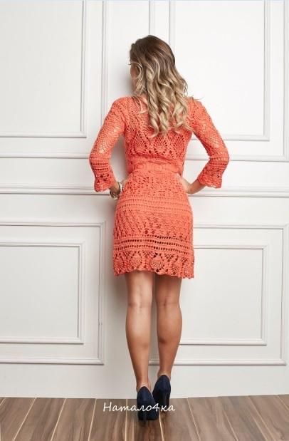 Платье из нескольких узоров