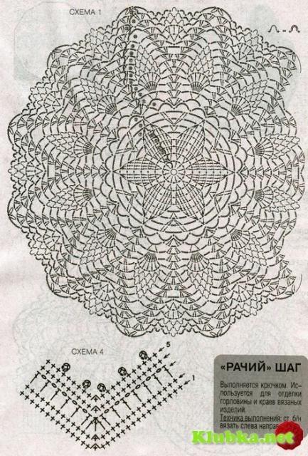 ГОЛУБОЙ ПУЛОВЕР-реглан с круговым ажурным узором