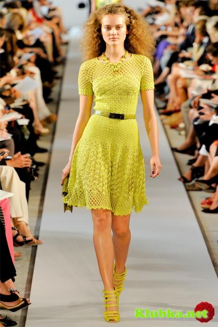 Платье от Оскара