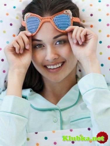 Вязаные очки «Приятных снов»