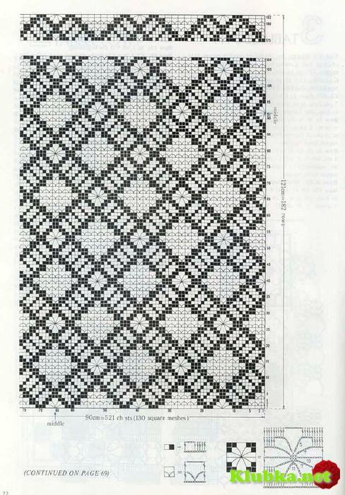 скатерть крючком филейное вязание клубканет все о вязании крючком