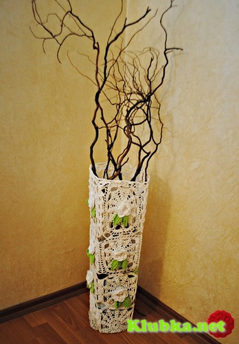 Мастер-класс по изготовлению вазы Весна