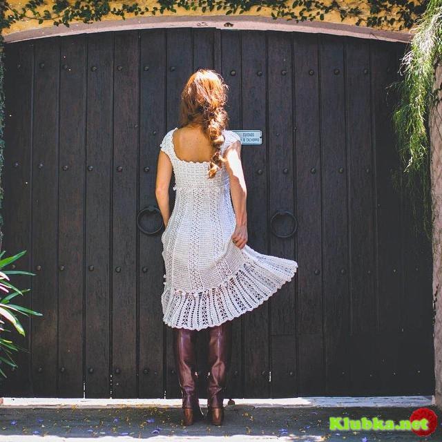 """Платье Ванессы Монторо """"Антония""""."""