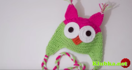 Чудная шапочка для девочек. видео мастер - класс