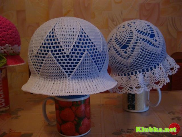 Как правильно накрахмалить вязаную шляпку