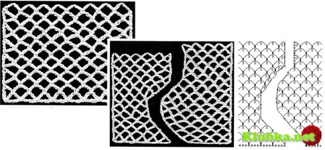 Длинный ажурный жилет с бахромой