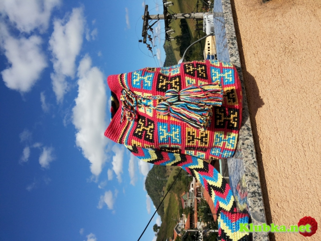 Сумки Вайуу - колумбийские mochilla. Фото, схемы, видео