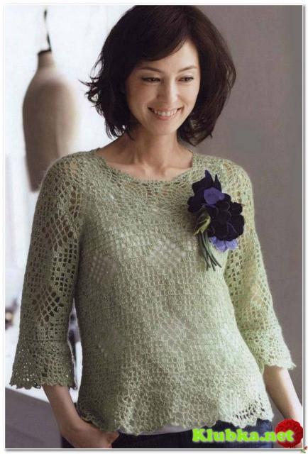 Привлекательный пуловер