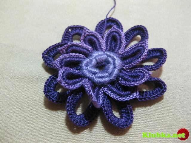 Мастер-класс цветка от АСИ ВЕРТЕН